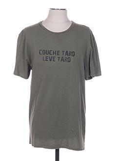 T-shirt manches courtes vert ARTHUR pour homme