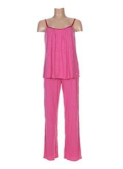 Pyjama rose LA FIANCEE D'ARTHUR pour femme