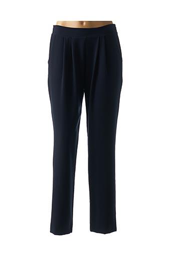 Pantalon casual bleu B.YU pour femme