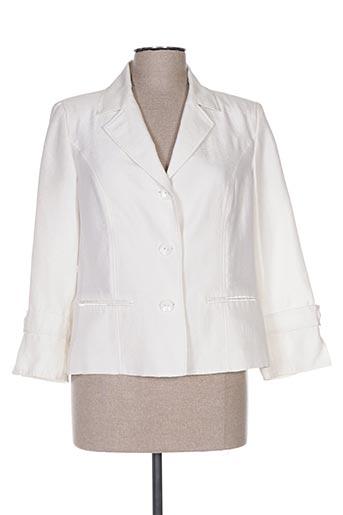 Veste chic / Blazer blanc PAUPORTÉ pour femme