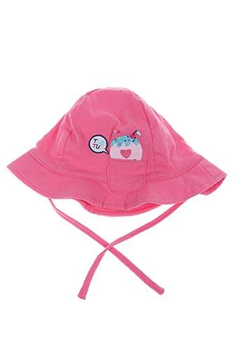 Chapeau rose TUC TUC pour fille