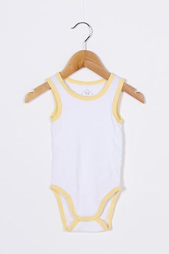 Body jaune TEX pour garçon