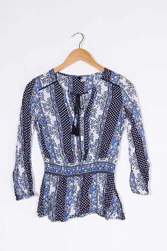 Blouse manches longues bleu DIVIDED H&M pour femme