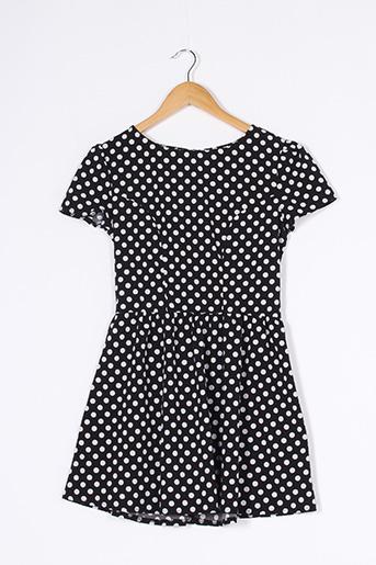 Robe courte noir CAMEO ROSE pour femme