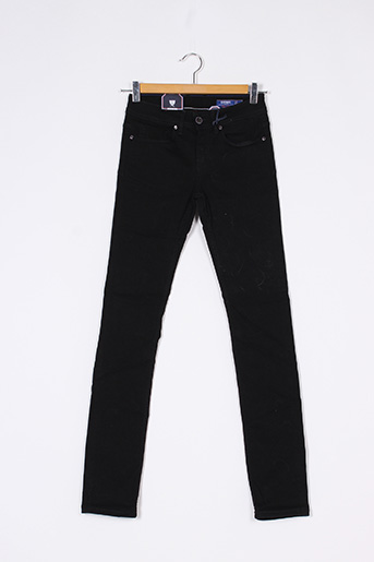 Jeans coupe slim noir KAPORAL pour femme