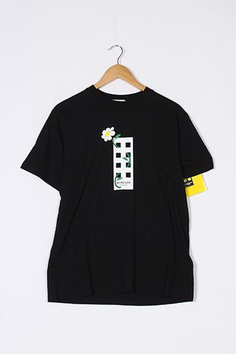 T-shirt manches courtes noir MONCLER pour femme