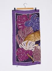 Foulard violet SALVATORE FERRAGAMO pour femme seconde vue