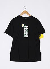T-shirt manches courtes noir MONCLER pour femme seconde vue