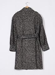 Manteau court noir MASSIMO DUTTI pour femme seconde vue