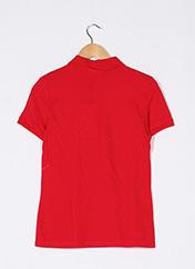 Polo manches courtes rouge LACOSTE pour femme seconde vue