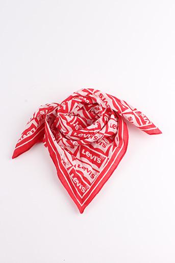 Foulard rouge LEVIS pour femme