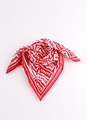 Foulard rouge LEVIS pour femme seconde vue