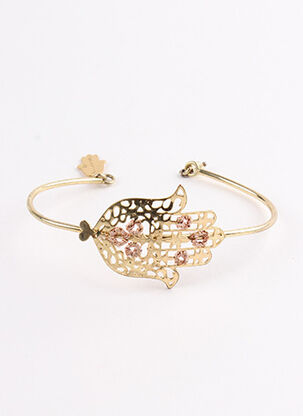 Bracelet Jonc jaune LES NEREIDES pour femme