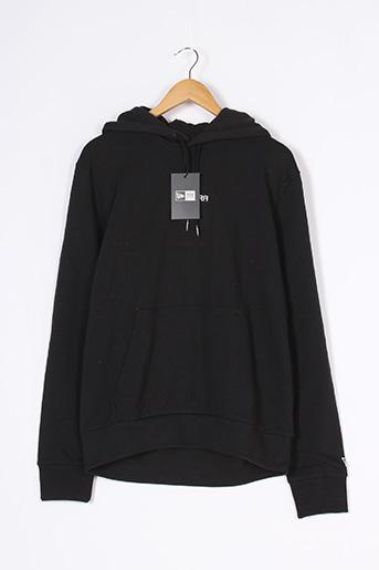 Sweat-shirt noir NEW ERA pour homme