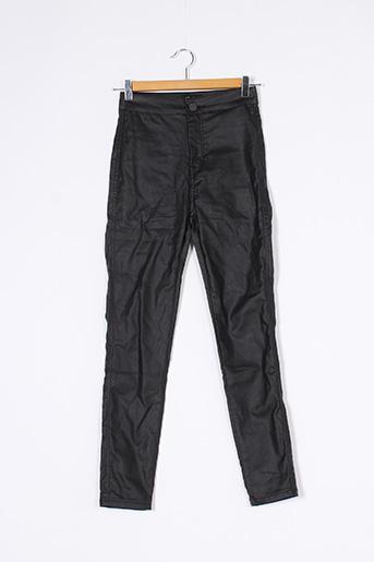 Pantalon casual noir DENIM CLUB pour femme
