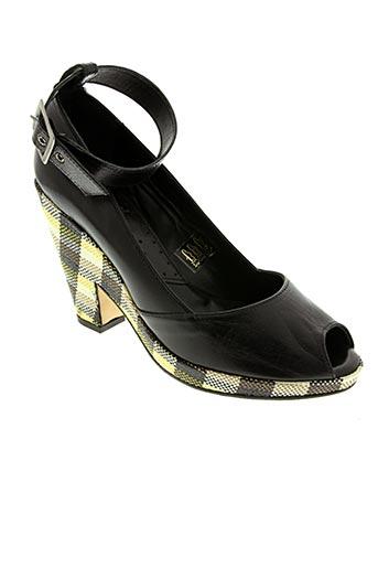 Sandales/Nu pieds noir IPPON STYL pour femme