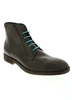 Bottines/Boots gris DIESEL pour homme