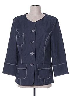 Veste chic / Blazer bleu GRIFFON pour femme