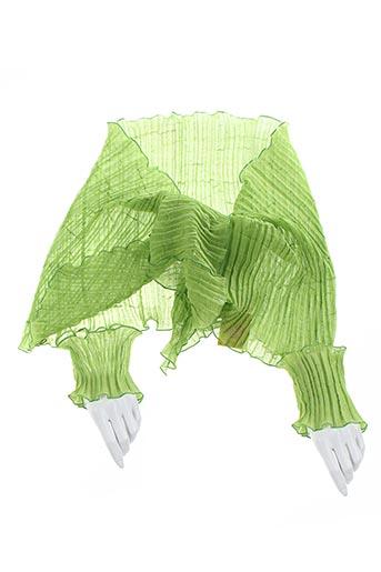 Foulard vert GANTEB'S pour femme