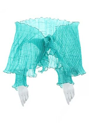 Foulard bleu GANTEB'S pour femme