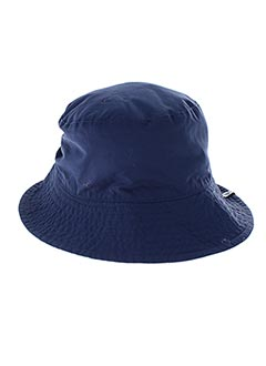 Chapeau bleu MTM pour femme