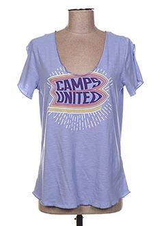 Produit-T-shirts-Femme-CAMPS UNITED