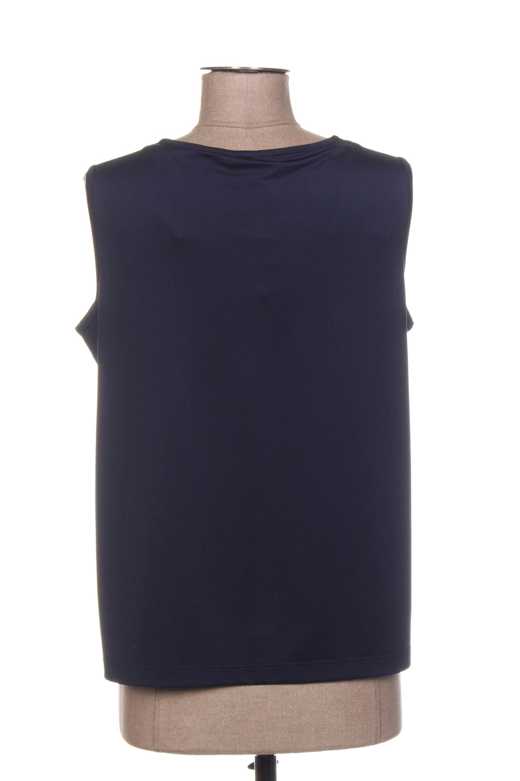 Diane Laury Tops Femme De Couleur Bleu En Soldes Pas Cher 1413742-bleu00