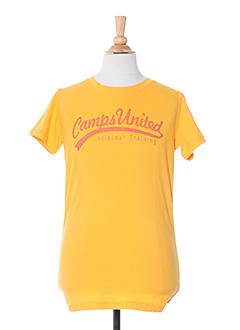 Produit-T-shirts-Fille-CAMPS UNITED