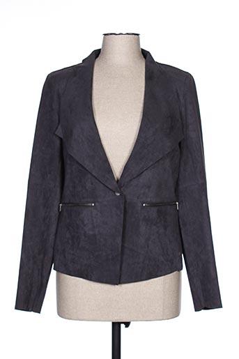 Veste casual gris SANDWICH pour femme