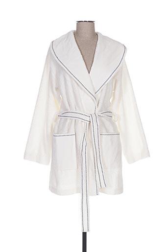 Robe de chambre blanc SO...SPA pour femme