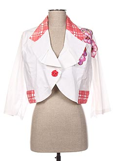 Veste casual rose FUEGO WOMAN pour femme