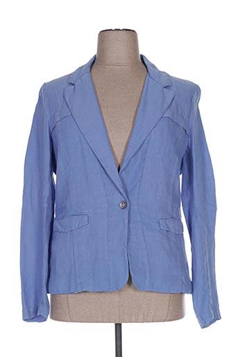 Veste casual bleu ONE STEP pour femme