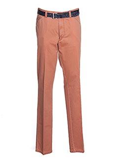 Pantalon casual orange MEYER pour homme