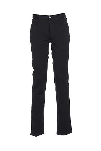 Pantalon casual noir KAMAO pour homme