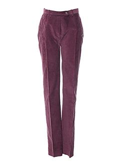 Pantalon chic rouge BERNARD ZINS pour femme