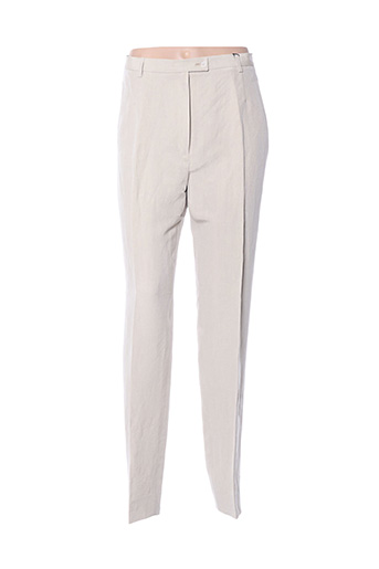 Pantalon chic beige BERNARD ZINS pour femme