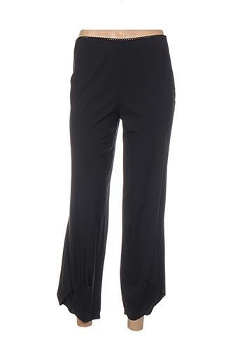 Pantalon 7/8 noir ET SI.... pour femme