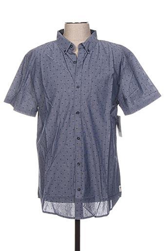 Chemise manches courtes bleu BILLABONG pour homme