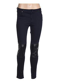 Jeans coupe slim bleu ZAPA pour femme