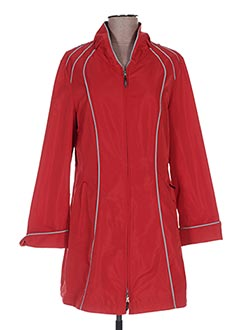 Imperméable/Trench rouge BARONIA pour femme
