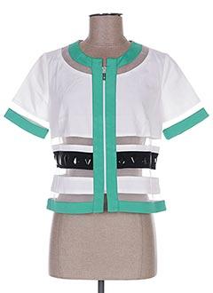 Veste casual blanc FUEGO WOMAN pour femme