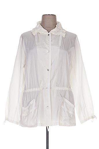 Veste casual blanc ARIELLE pour femme