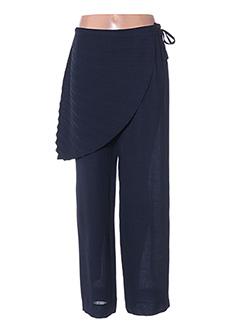 Pantalon chic bleu ATIKA pour femme
