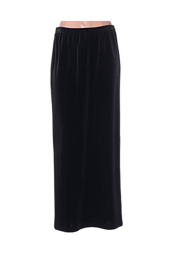 Jupe longue noir FRANK USHER pour femme