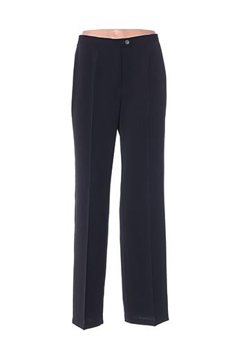 Pantalon chic noir EINHORN pour femme