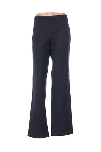 Pantalon casual noir LUISA CERANO pour femme