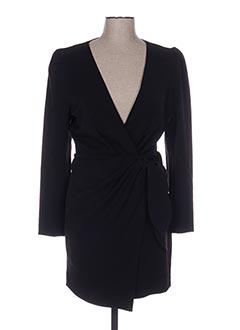 Robe courte noir SCHOOL RAG pour femme