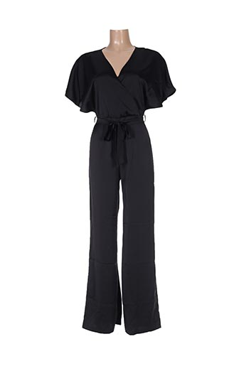 Combi-pantalon noir ADOREE pour femme