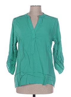 Tunique manches longues vert GOA pour femme