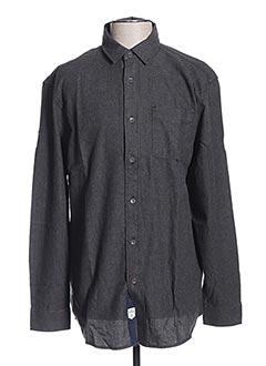 Chemise manches longues gris LEE COOPER pour homme